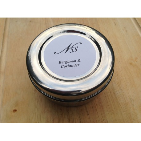 Stainless Steel Tin for Nanny's Hard shaving Soap